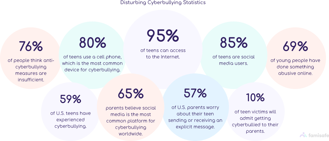 common cyberbullying statistics web