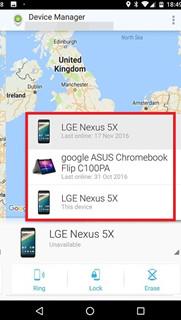 localizador de celulares perdidos