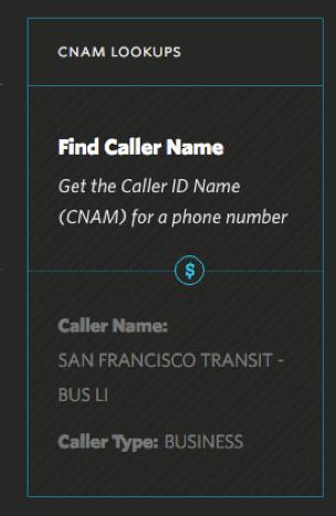 Suivre l'identification de l'appelant d'un numéro de téléphone avec la réception d'un appel
