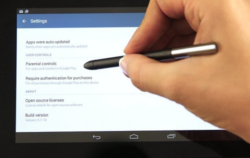 How to set parental controls on android tablet