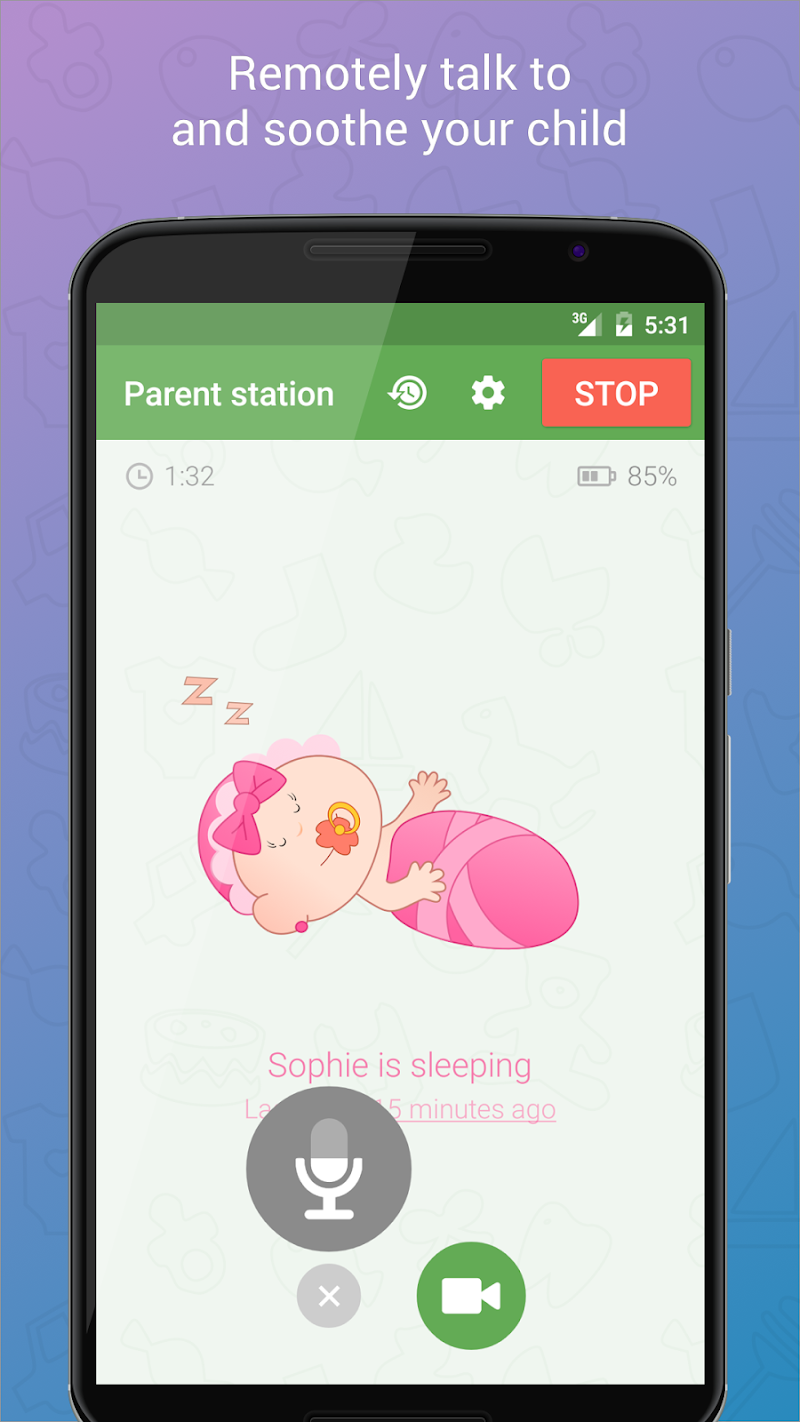 application moniteurs pour bébé pour Android-11