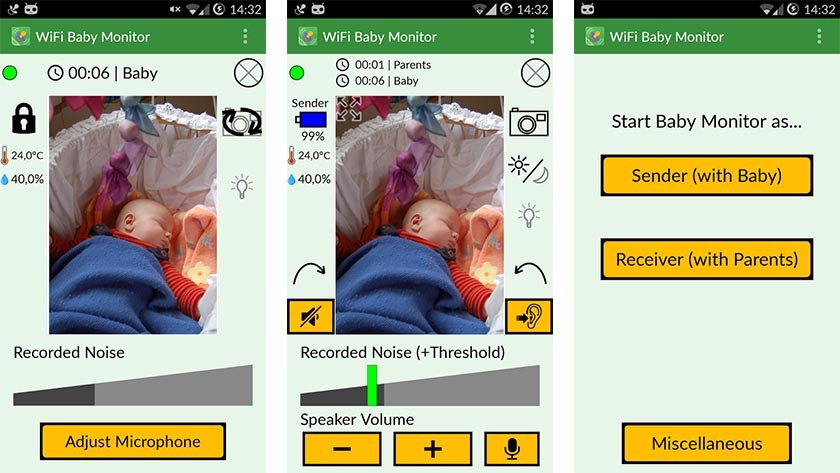 application moniteurs pour bébé pour Android-9