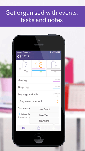 The Best Family Calendar Apps for iPhone of 2019-Planner Pro