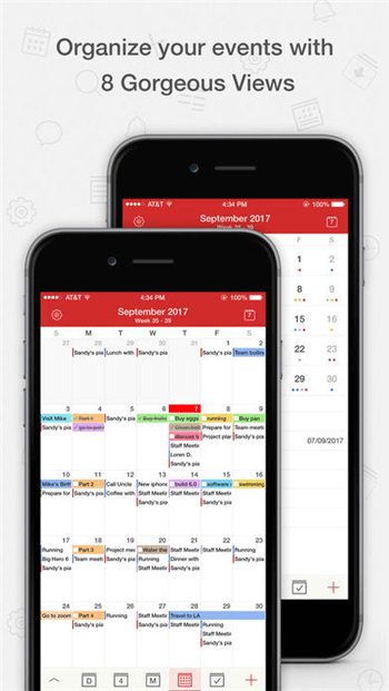best free shared calendar app for iphone