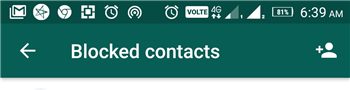 How to Block a Contact on WhatsApp?