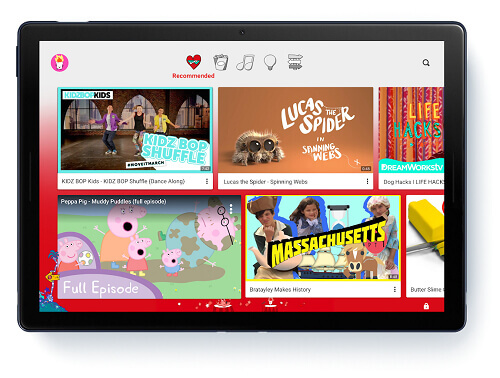 Block Adult Content on youtube kids app