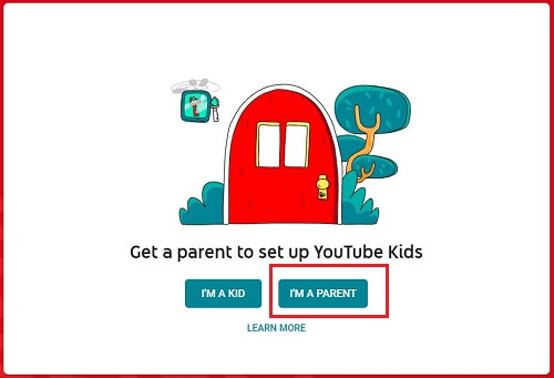 create a account to restrict inappropriate Content on YouTube kids