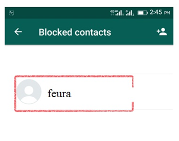 how to know if blocked on whatsapp - block contact