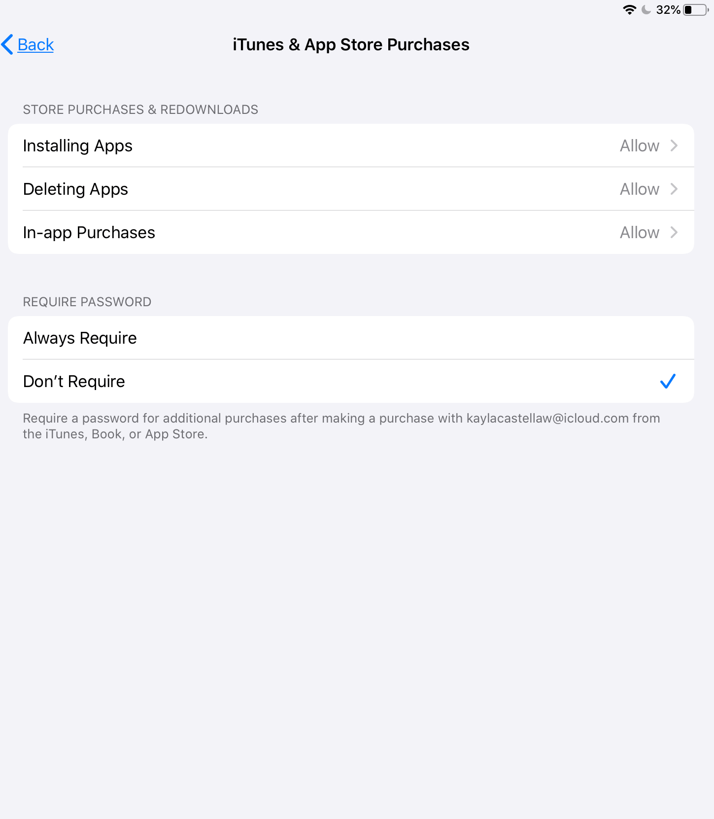 ipad parental controls