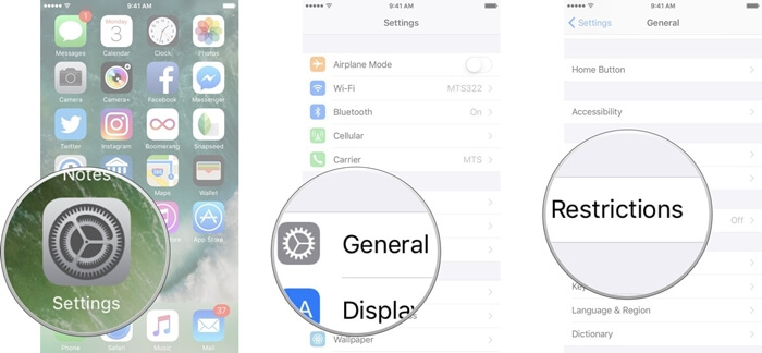 Controles Parentales Para iPhone X
