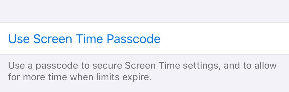 set a passcode to protect your ipod control setting