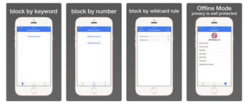 block messages and calls app for Android and iPhone - SMS Blocker