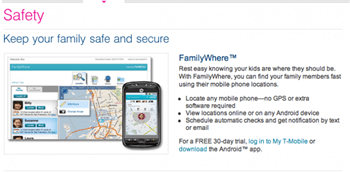 T-Mobile FamilyWhere app Review