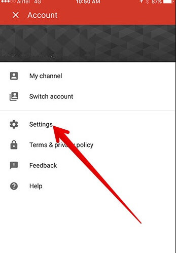 Como Configurar o Controle dos pais do YouTube no iPhone