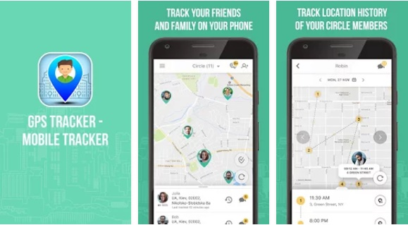 GPS tracker- Mobile Tracker