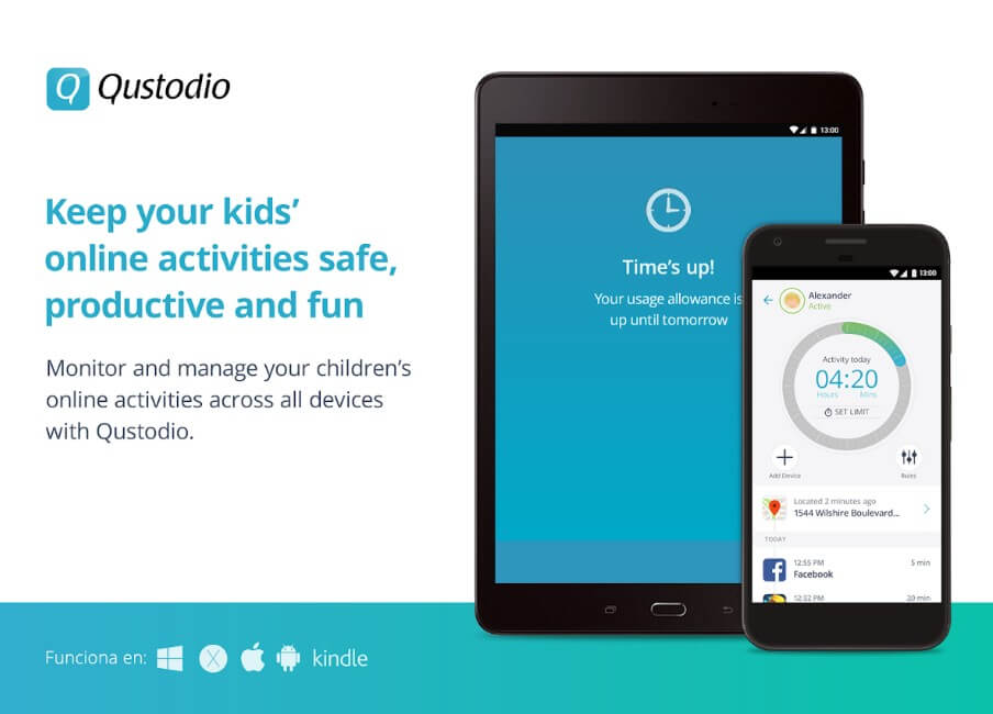text message monitoring for parents - Qustodio
