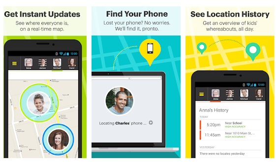 sprint family locator app