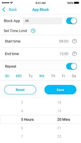 Aplicación de Límite de Tiempo: Haz que tus niños tengan una buena vida en línea