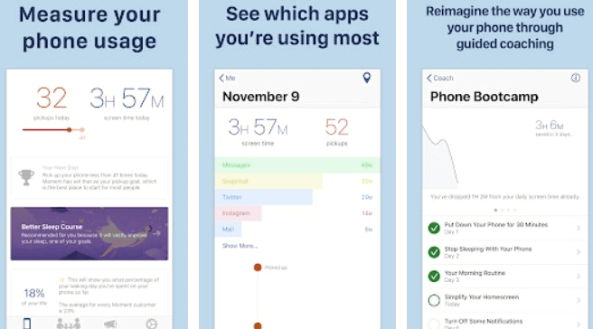 Moment App Usage Tracker