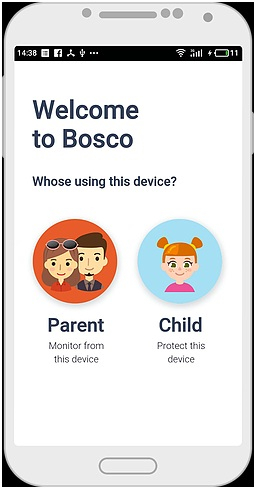 Use Bosco app to prevent bullying step 2