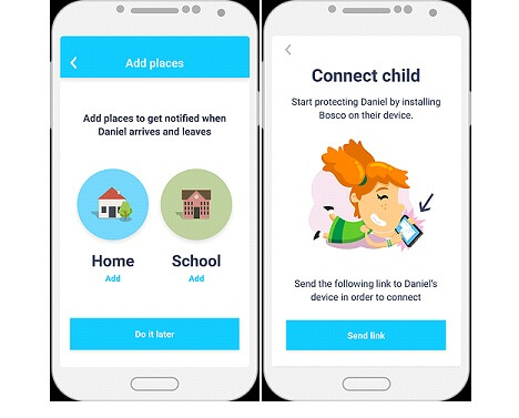 Use of Bosco app to prevent bullying step 5