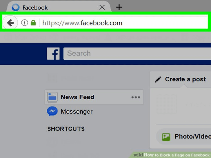 How to Block a Page on Facebook and Browser