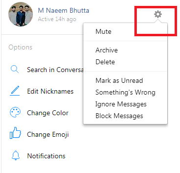 How to Block Messages on Facebook from another Phone