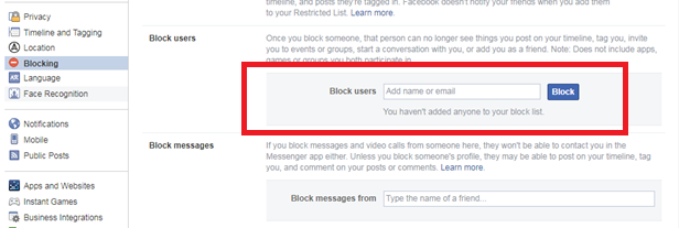 How to Block People on Your Teen's Facebook