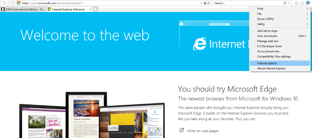 How to block websites on internet explorer with FamiSafe