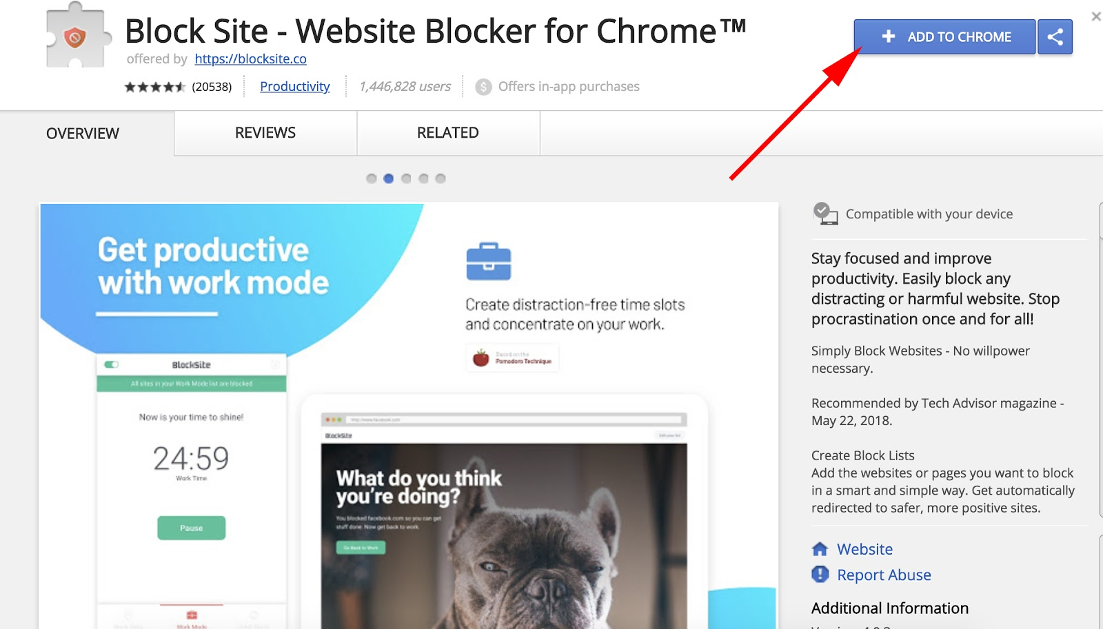 Como Filtrar um Website no Chrome