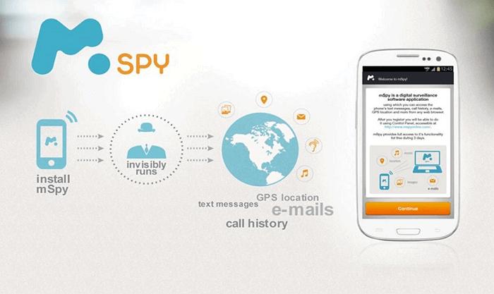 SMS Tracker Web - mSpy