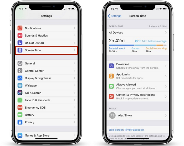 How to use screen time on iOS 12 1