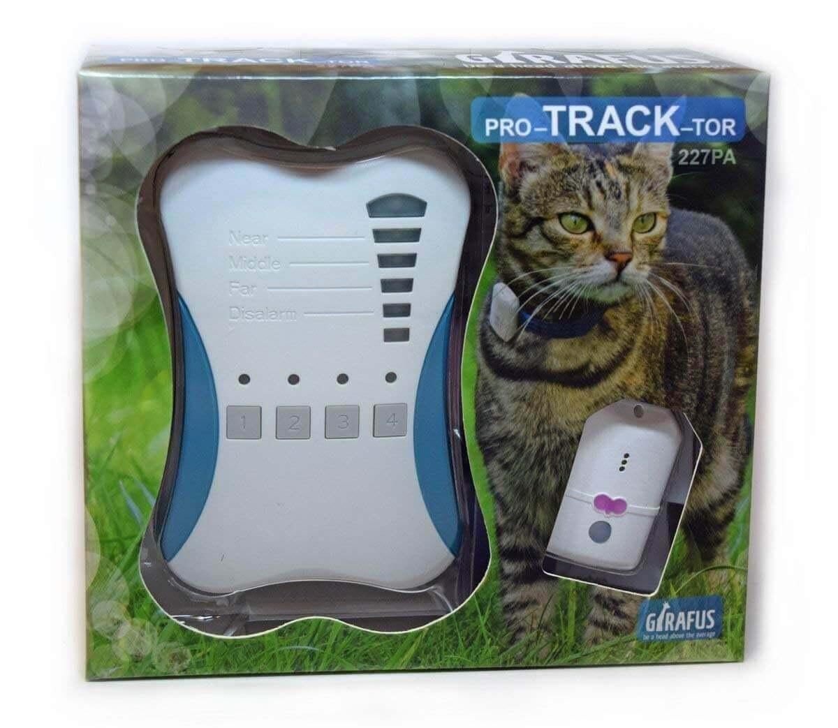 Girafus Pro-Track-Tor Pet Safety Tracker RF Technology Device