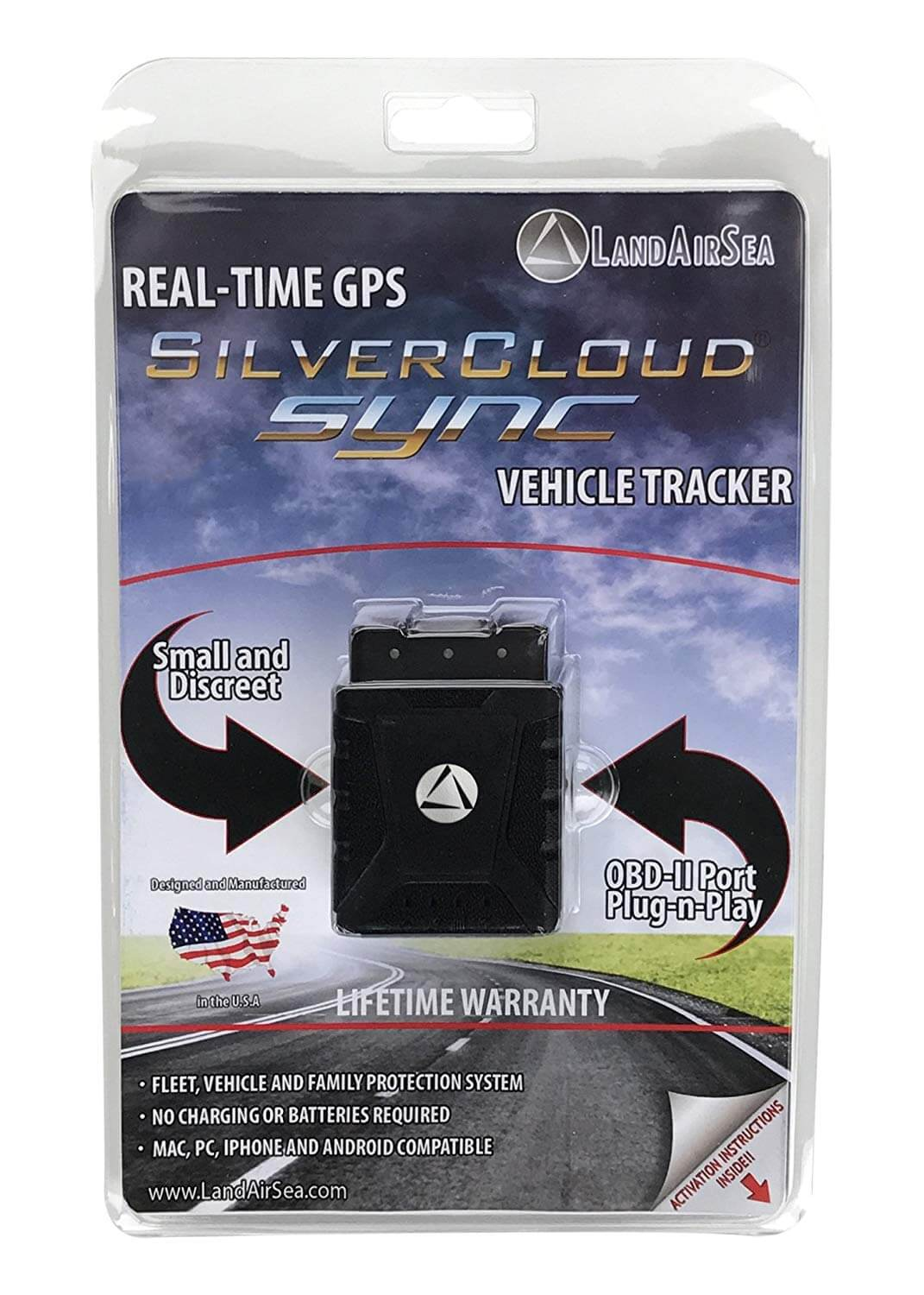 LandSeaAir SilverCloud Real-Time Sync Tracking Device