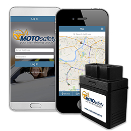MOTOsafety OBD GPS Tracking & Vehicle Monitoring System