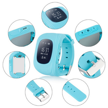 The Best GPS Tracking Watches for Alzheimer's Patients - Q50 Anti-lost gps tracker