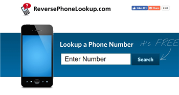 Reverse Number Phone Lookup - Phone Number Finder