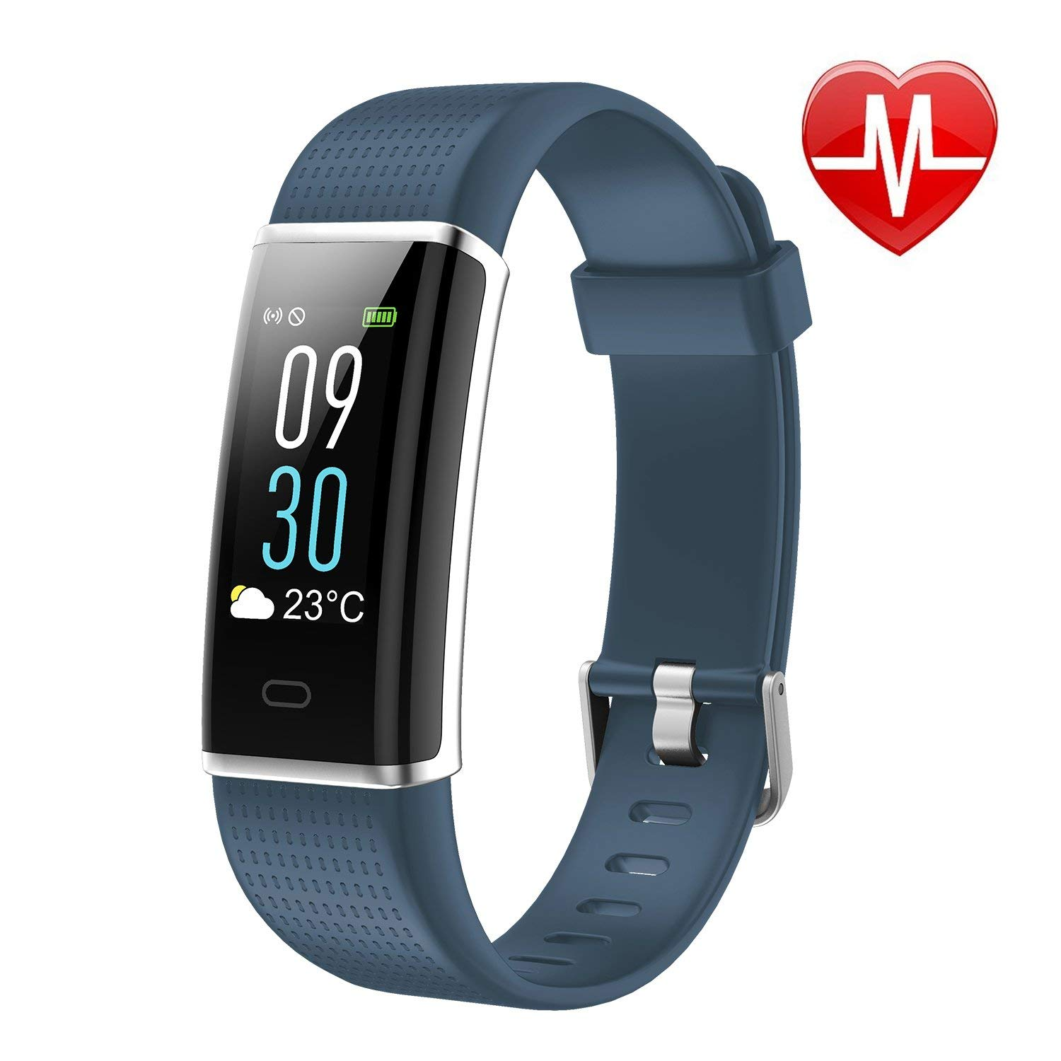 LETSCOM Fitness Tracker Smart Watch
