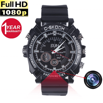 Best Spy Watches with Hidden Camera and Microphone Video Recorder USB