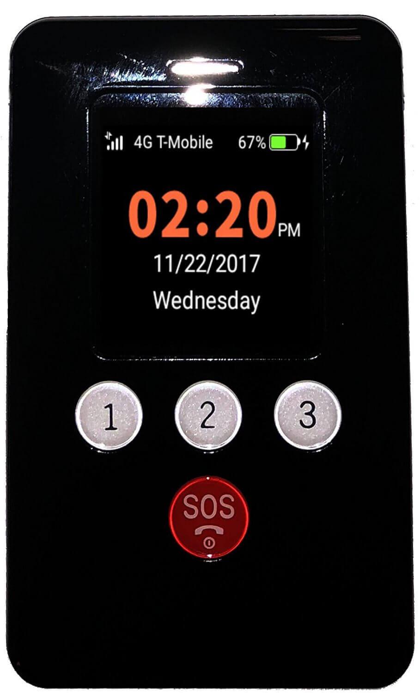 Rasterador de GPS para Celulares de Crianças Vestível KidsConnect KC2 4G