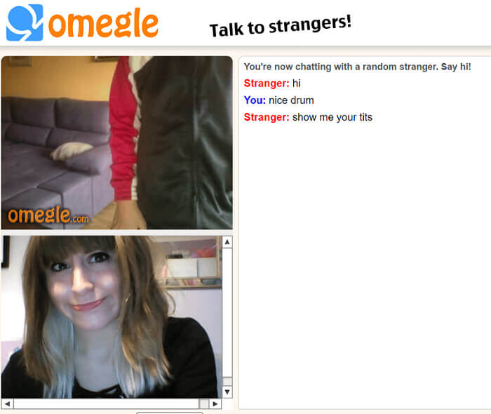 omegle video chat app: talk to stranger including online predators in omegle