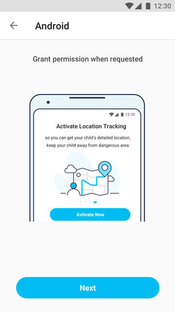 Activate Location Tracking