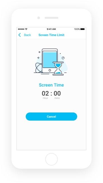 Mantente actualizado sobre el tiempo de pantalla de tu niño