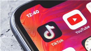 TikTok on the phone