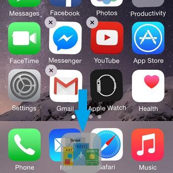 cómo esconder aplicaciones en iPhone