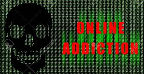 adicción a estar en línea