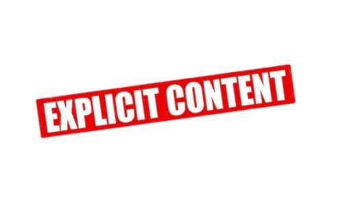 contenu vidéo explicite
