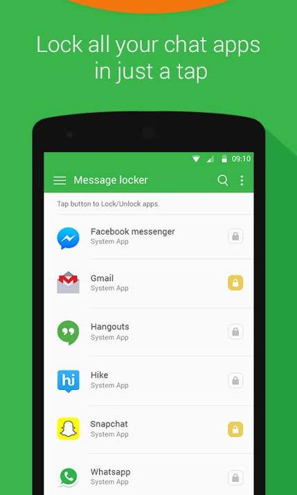 Message Locker SMS Lock