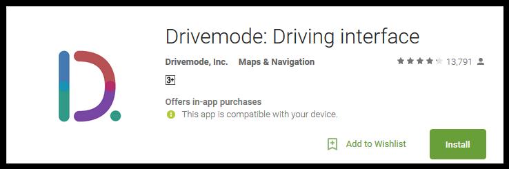 safe driving app - Drive Mode
