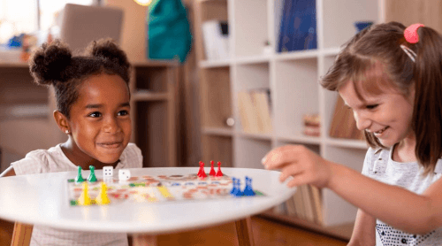 allow kids to play with friends